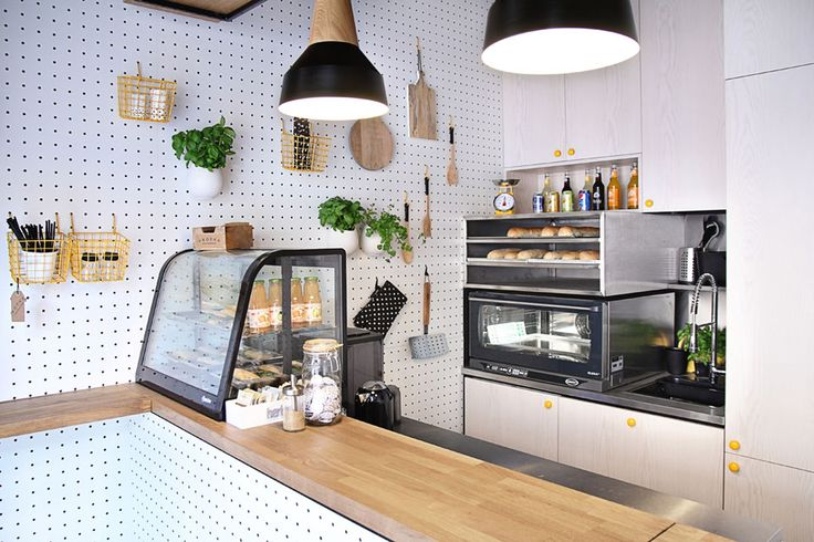 Un snack-bar de 11,5m² | MilK decoration