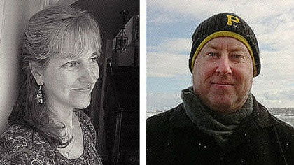 Authors Stewart O'Nan and Jane McCafferty tackle love and marriage