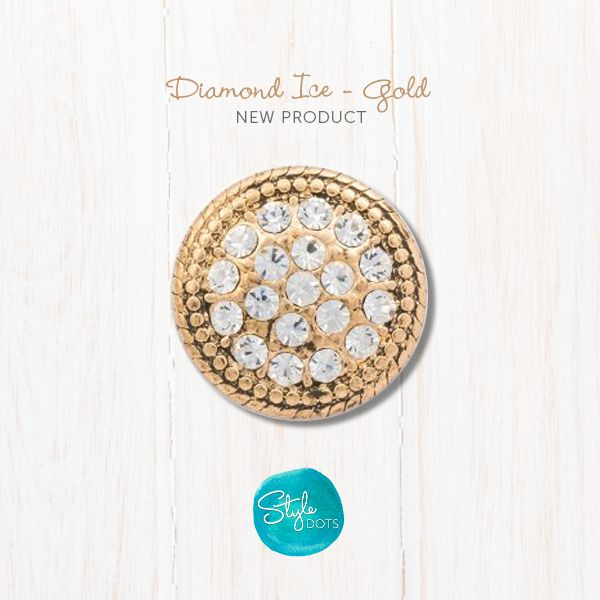 The timeless look of diamonds in a gold setting - positively brilliant! https://shanette.styledotshome.com/products/dots