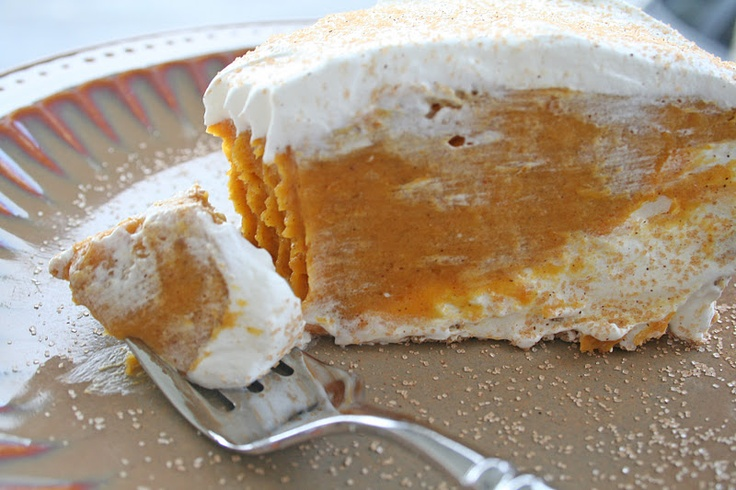 Sweet Basil: Double Layer Pumpkin Pie