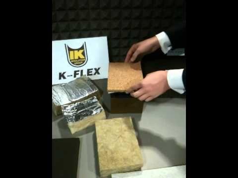 моизоляция, Звукоизоляция K-FLEX K-FONIK - YouTube /// Шумоизоляция, Звукоизоляция K-FLEX K-FONIK - YouTube