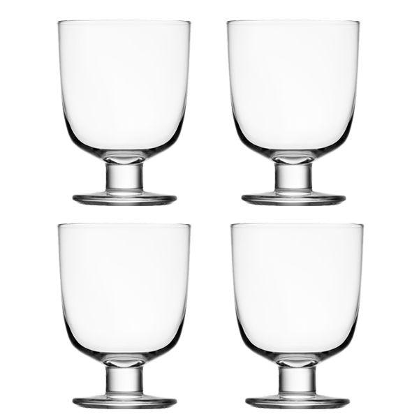Lempi glass, clear, set of 4