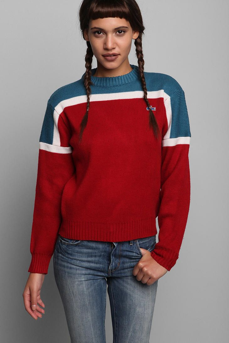 Vintage '60s Lacoste Sweater #urbanoutfitters #vintage