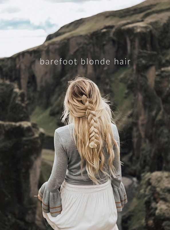 Barefoot Blonder Hair extensions by Amber Fillerup Clark
