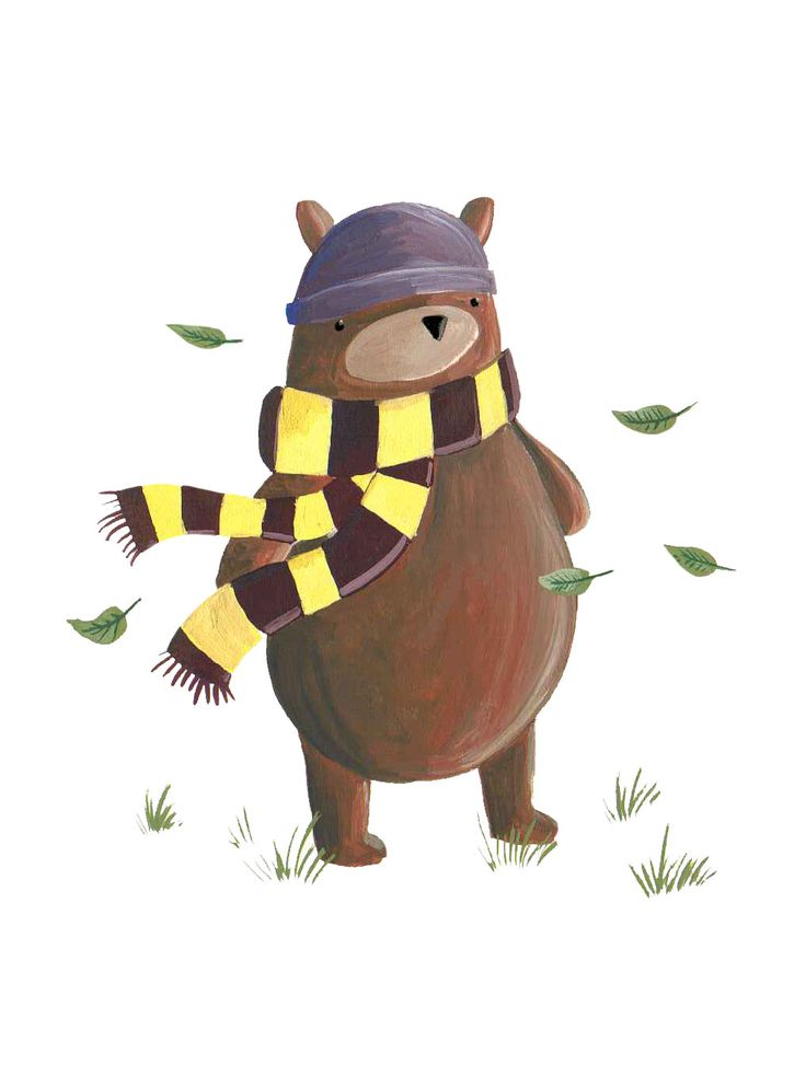 Becky Down Illustration: bears bears bears