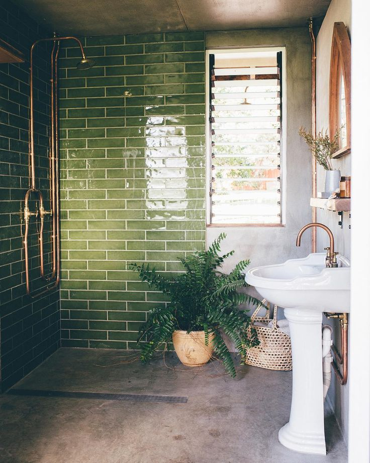 "homestyle magazine on Instagram: ""Green is havin…"