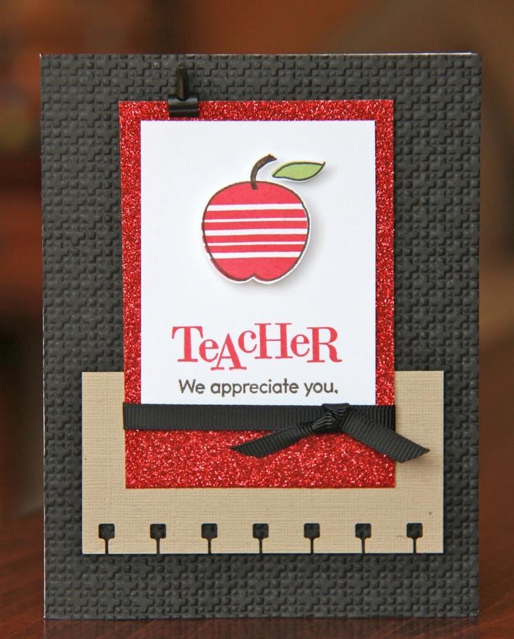 wedding thank you cards time limit%0A Homemade Teacher Appreciation Card