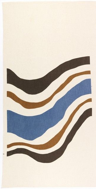 Textile: Rhythm designed by Elenhank Designers, Inc., 1972.