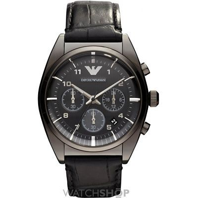 Mens Emporio Armani Chronograph Watch AR0393