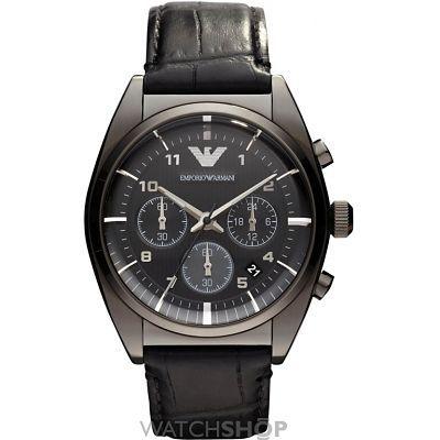 Mens Emporio Armani Chronograph Watch AR0393