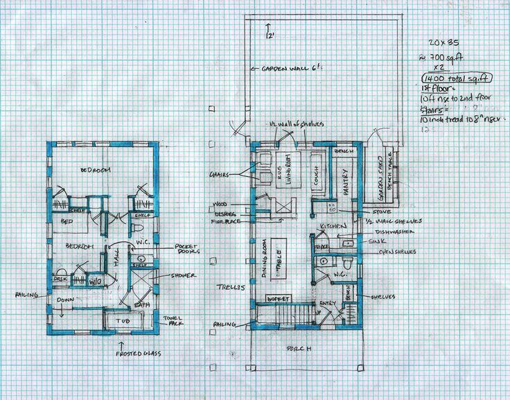 . 20 30 house plans   Google Search   floorplans   Pinterest   House