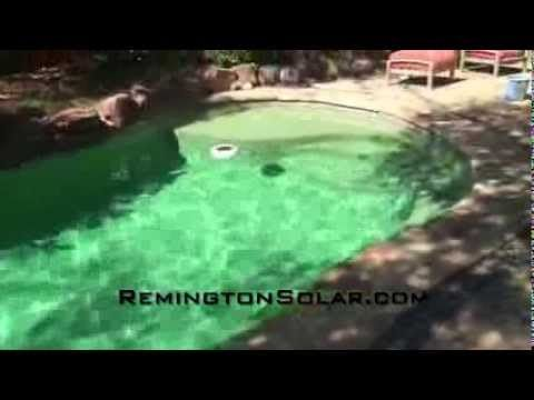 "Remington Solar Swimming Pool Chemical-Free ""Sun Shock"" Ionizer"