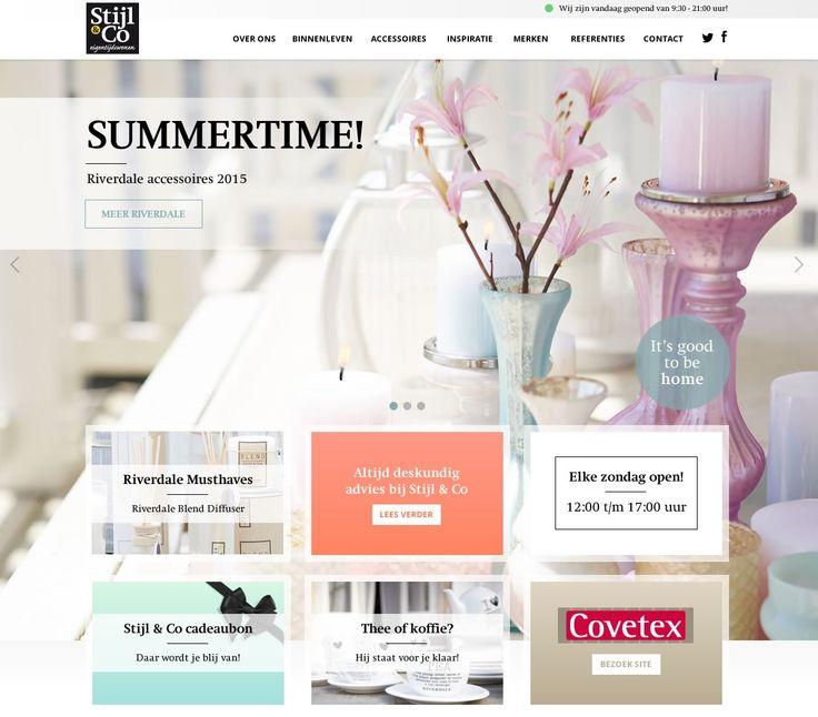 Nieuwe Stijl & Co website wordt binnenkort gelanceerd!