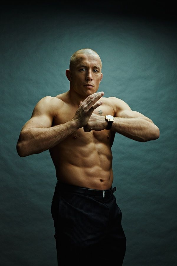 UFC's Georges St-Pierre the best pound for pound fighter in the world and named three consecutive years athlete of the year in Canada as a World Champion