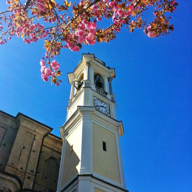 Meina's church on spring...