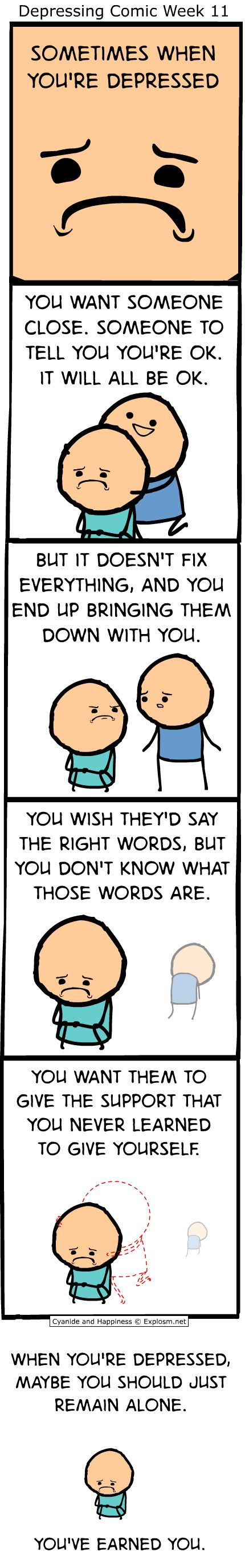 C&H: Sometimes When You're Depressed - Imgur