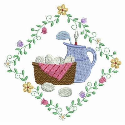 Taste Of Kitchen Embroidery Design Part 67