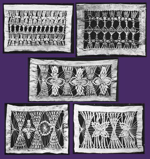 Iva Rose Vintage Reproductions - Needlecraft Practical Journal #25 c.1903 - Drawn Thread Work