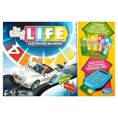 Hasbro Gaming The Game of Life Electronic Banking Ages 8+