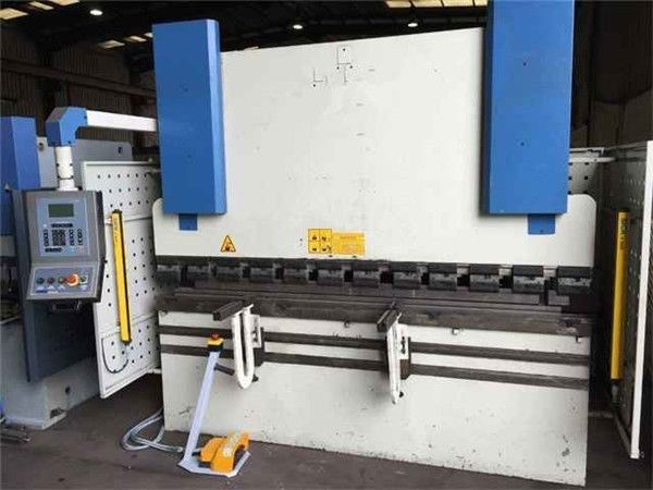 Hacmpress 100ton Manual Estun E21 Digital Readout Hydraulic Plate Press Brake In Peru Image Of Hac Press Brake Cnc Press Brake