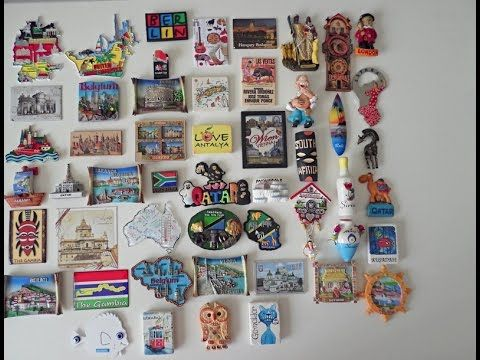 My Fridge Magnet Collection From Many Countries