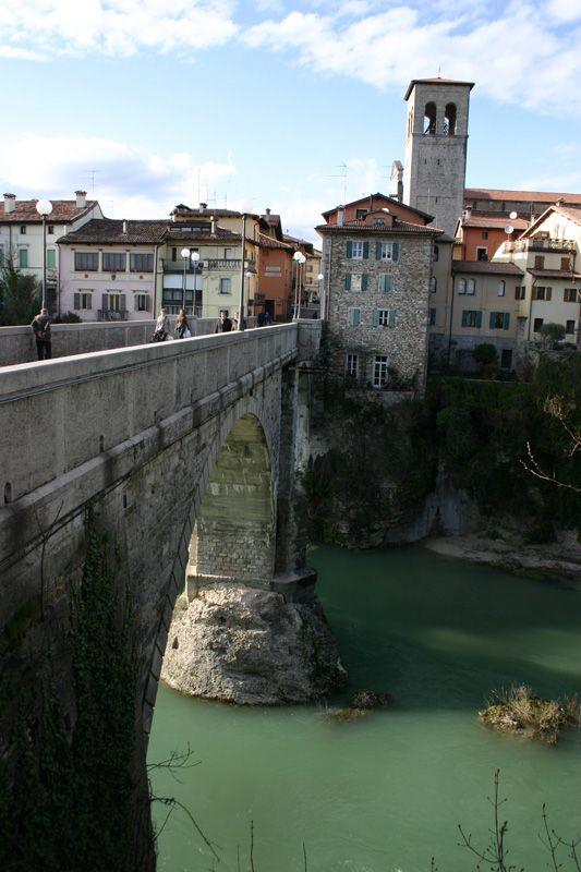 Devil's bridge - Cividale del Friuli, Udine, Italy