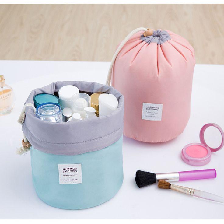 Beautician Necessarie Vanity Pouch Necessaire Trip Beauty Women Travel Toiletry Kit Make Up Makeup Case Cosmetic Bag Organiz ^22