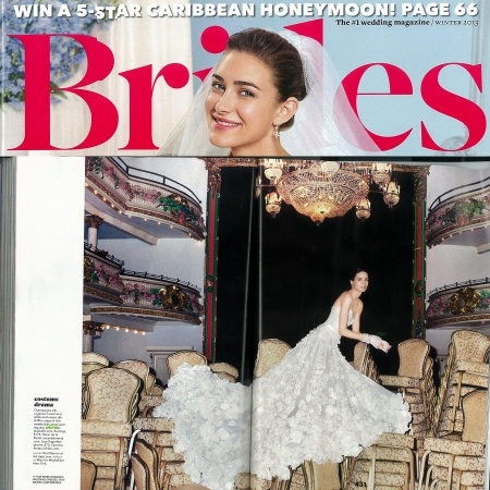LEILA HAFZI in Brides US Conde Nast