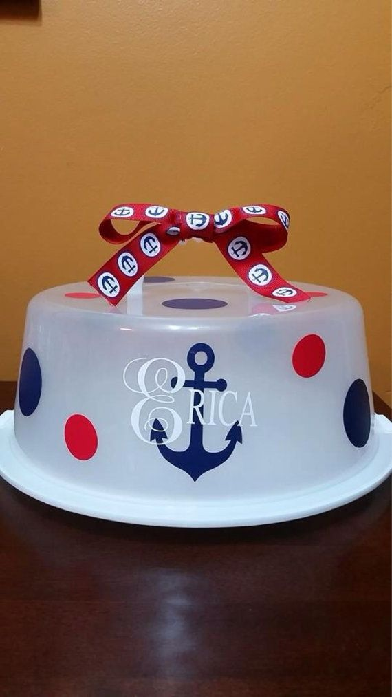 Please check out my Etsy Shop Etsy listing at //.etsy & 109 best Vinyl cake carrier images on Pinterest | Vinyl projects ...