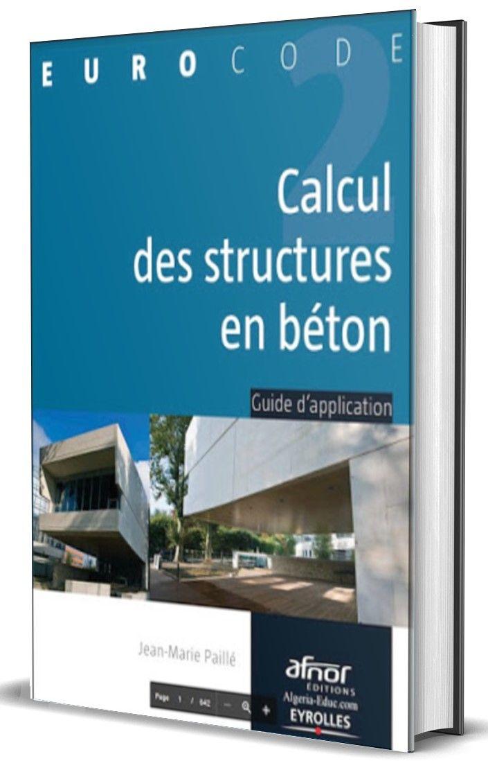 Calcul Des Structures En Beton Arme En 2020 Calcul Beton Beton Arme Calcul