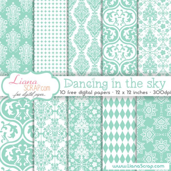 Free digital paper pack – Dancing In The Sky Set - http://www.lianascrap.com/free-digital-paper-pack-dancing-in-the-sky-set/