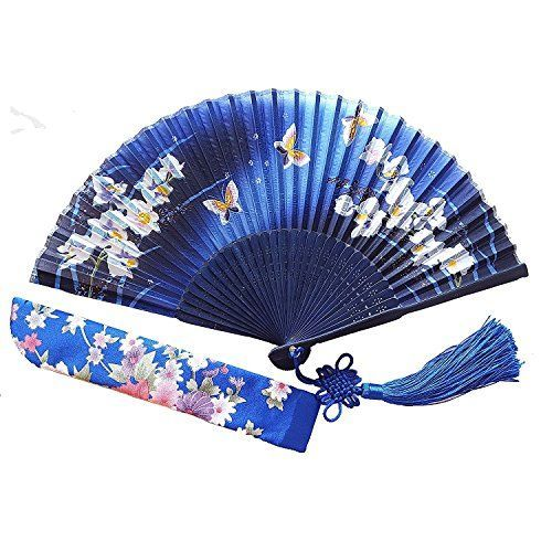 wall décor is mystical, captivating and beautiful and makes any room in your  home warm and inviting. You can get all  kinds of inspiration by these beautiful pieces of Asian home décor. Especially when you combine Japanese canvas art,    Wise Bird Chinese Japanese Folding Hand Fan for women, Summer Cooling Accessories Vintage Retro Style 8