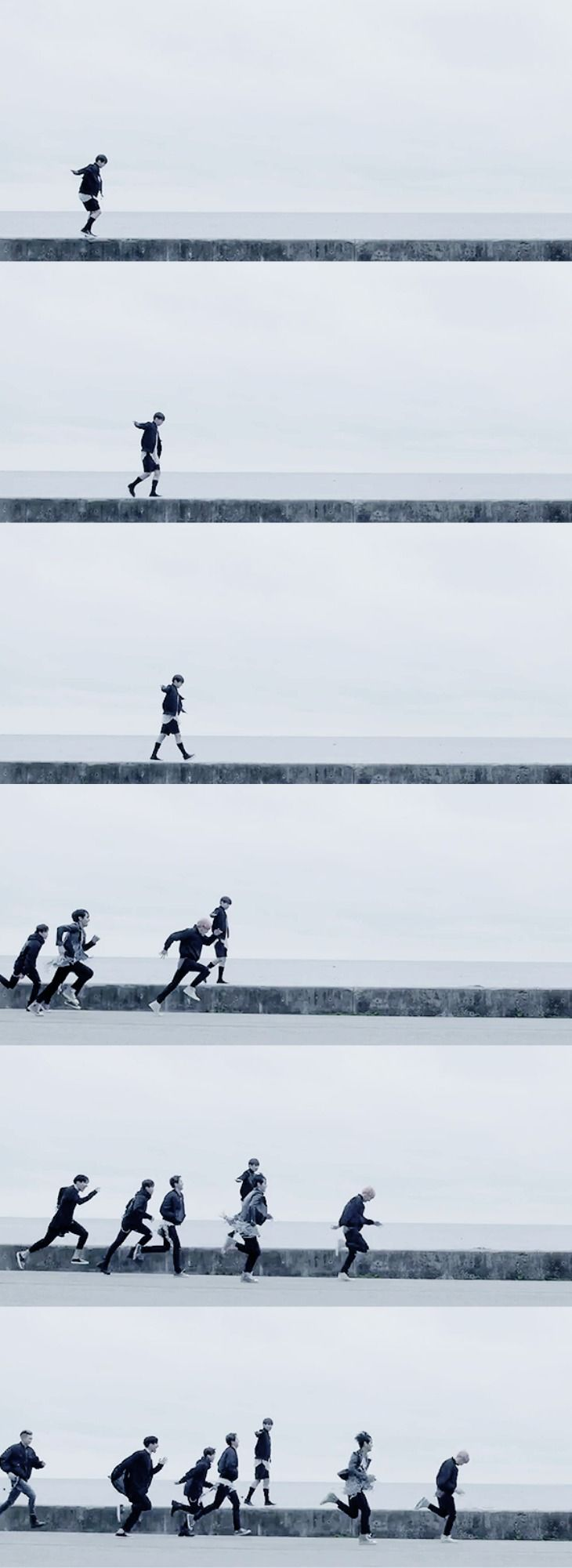 ☆ ~ Sometime We Are Like Stars. We Fall So Someone's Wish Can Come True. ~ ☆ LH : Yoongi is running? Omg