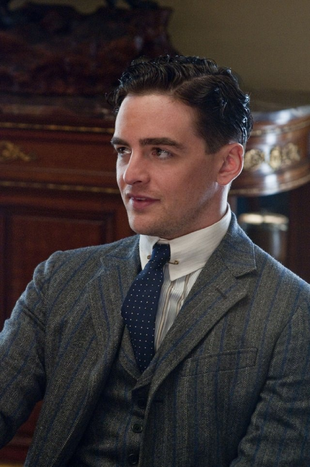 Vincent Piazza as Lucky Luciano...I think he's so sexy in this roll-but when he's not playing Lucky, I'm not as attracted to him. Ha