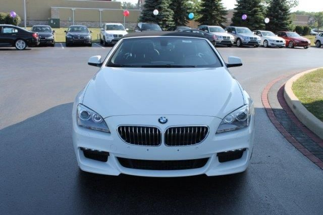 2014 Bmw 6Series 640ixDrive AWD 640i xDrive 2dr Convertible Convertible 2 Doors White for sale in Schererville, IN Source: http://www.usedcarsgroup.com/used-bmw-for-sale-in-schererville-in