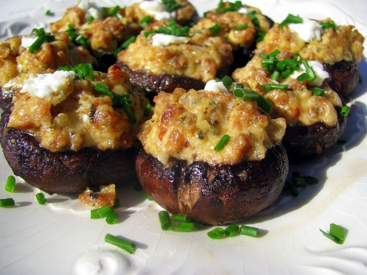 Olive Garden Portobello Mushrooms Stuffed With Italian Sausage