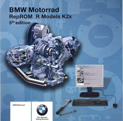 BMW R1200 K2x RepROM FACTORY SERVICE MANUAL 2004-2009 ONLINE