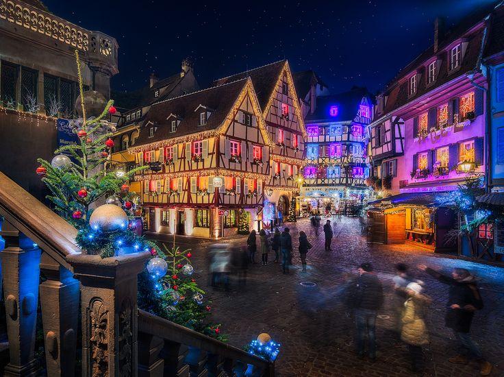 La Magie de Noël en plein coeur de Colmar (Photo : Thibaut Froehly) #Colmar #Alsace #France #Noël #Christmas #Weihnachten #magie #magic #Zauber #travel #voyage #Reise (www.noel-colmar.com)