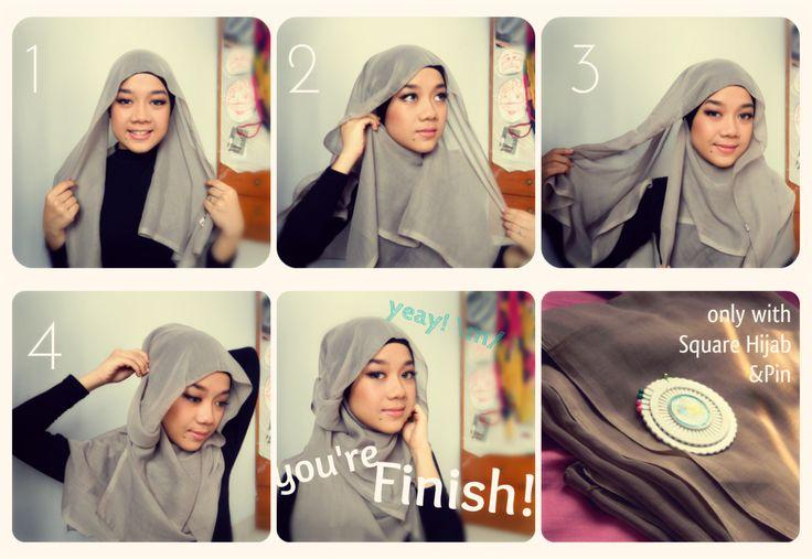 Hana Tajima Inspired Hijab Tutorial