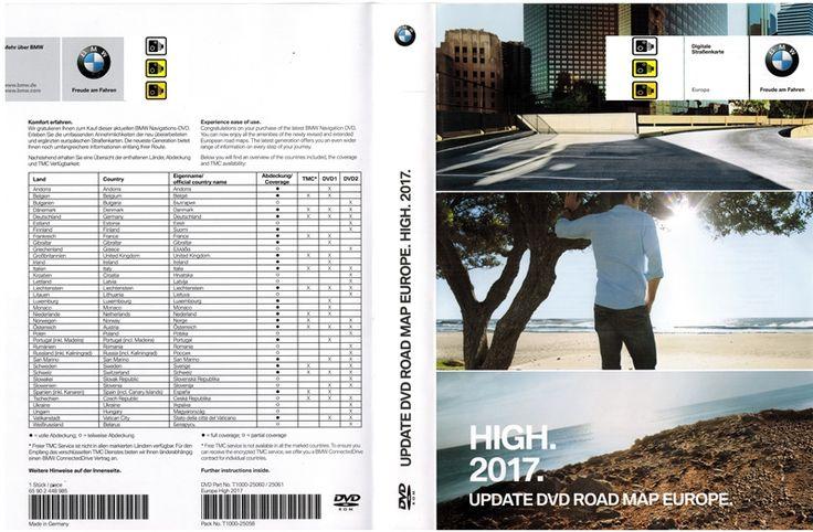 BMW Navigation DVD Road Map Europe HIGH Blitzer Edition 2017-2018 – GPS Underground