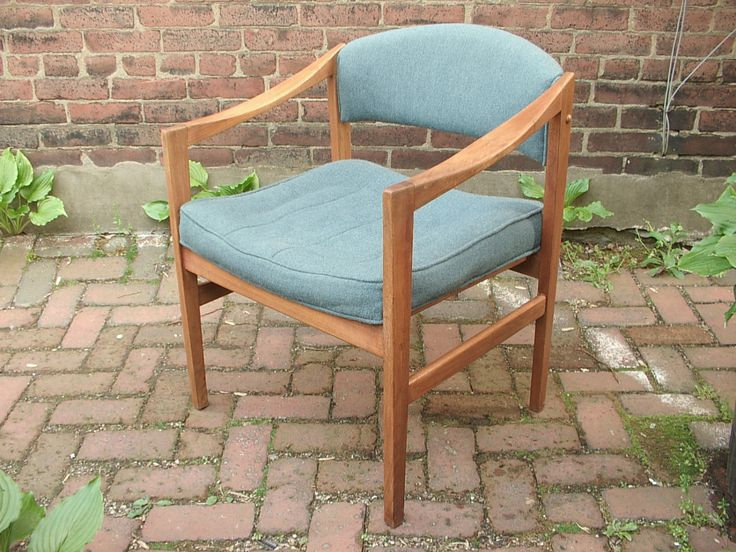 ingenious idea mid century side chair. Vintage 1960 s Edward Wormley for Dunbar Danish Modern Chair  Blue wool side chair Mid 35 best century furniture images on Pinterest