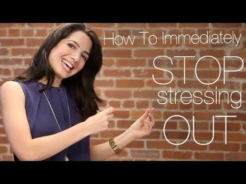 Press play to learn how to IMMEDIATELY stop stressing out! Repin if you loved Marie's advice, and sign up at www.marieforleo.com for even more amazing tips.