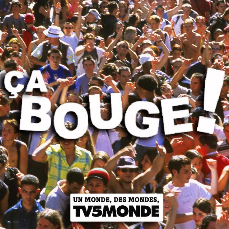 Ça bouge (TV5 Monde) Vidéos + fiches d'activités sur la France et le Canada en tant que pays francophones