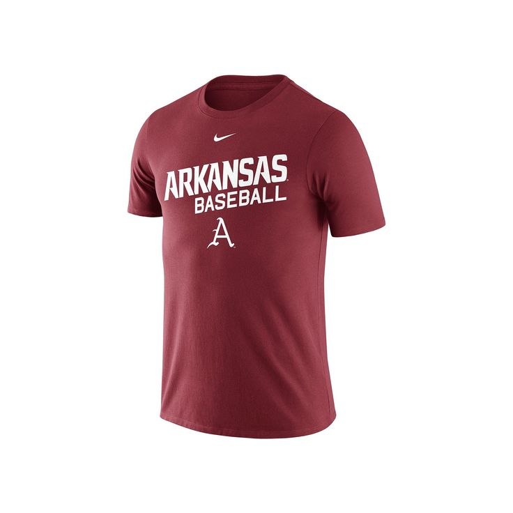 Men's Nike Arkansas Razorbacks Baseball Tee, Size: Medium, Other Clrs