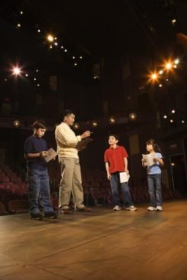 Theatre games that teach blocking for students to understand the difference of important movements and unnecessary movements.