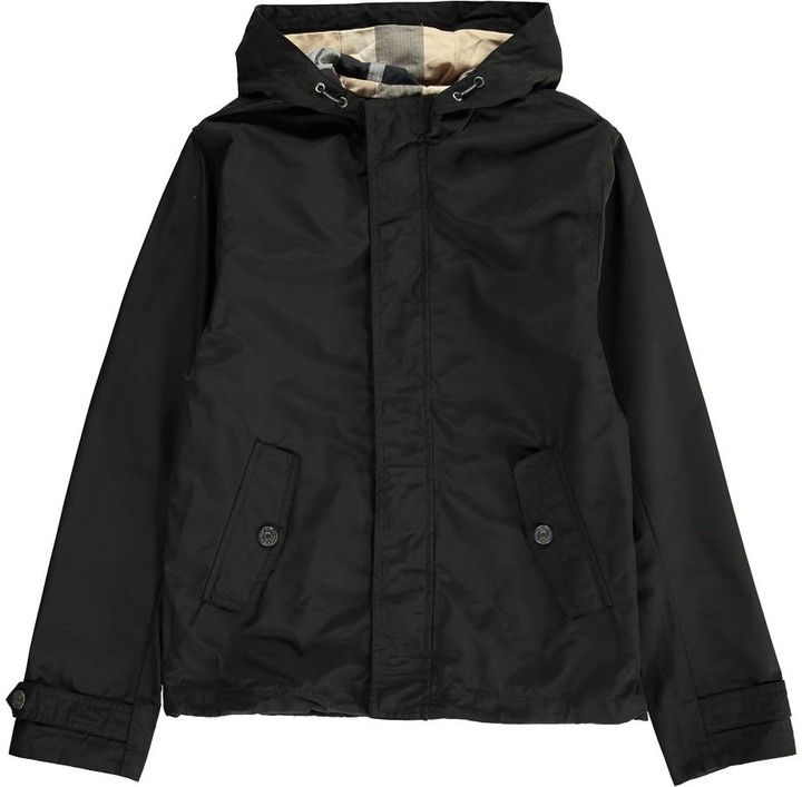 Tartan-Lined Jacket