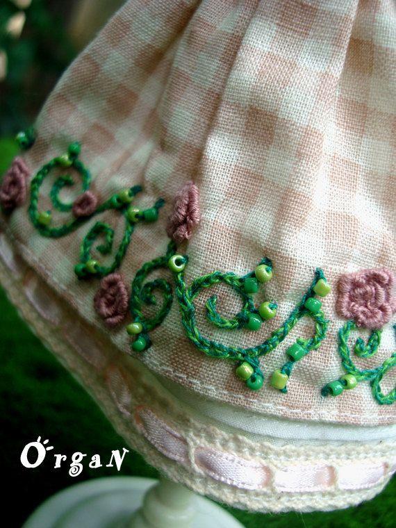 OOAK Divine English Roses Garden Party Dress set  2pcs by organ111, $35.00