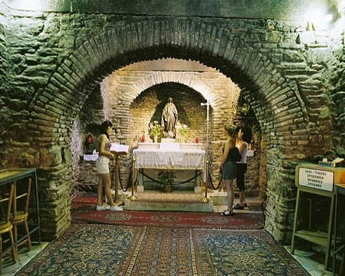 THE HOUSE OF VİRGİN MARY - EFES MERYEMANA EVİ - İzmir