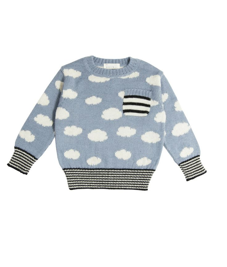Cloud Pullover (Baby) |: Cloud Jumpers, Cloud Pullover, Baby Boys, Blue Cloud, Winter Collection, Baby Alpacas, Alpacas Cloud, Noch Minis, Fall Winter