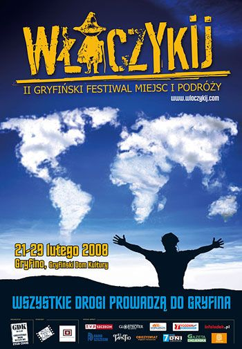 gryfiński festiwal miejsc i podróży włóczykij plakat - Szukaj w Google